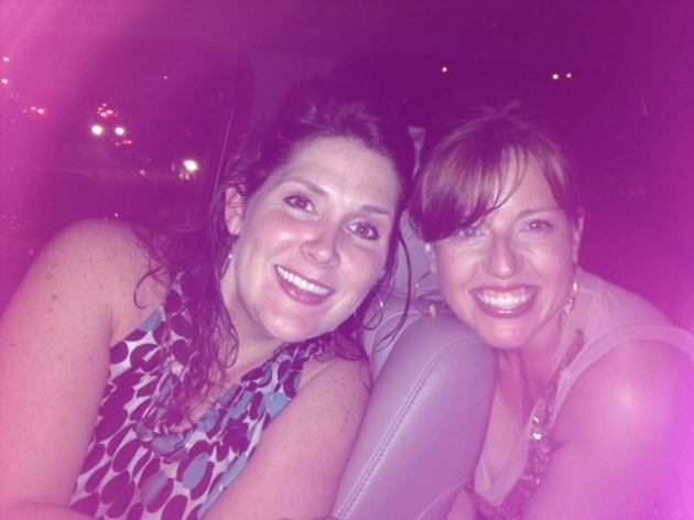 Jenn and I after the FL/GA Line show!  Such fun!!